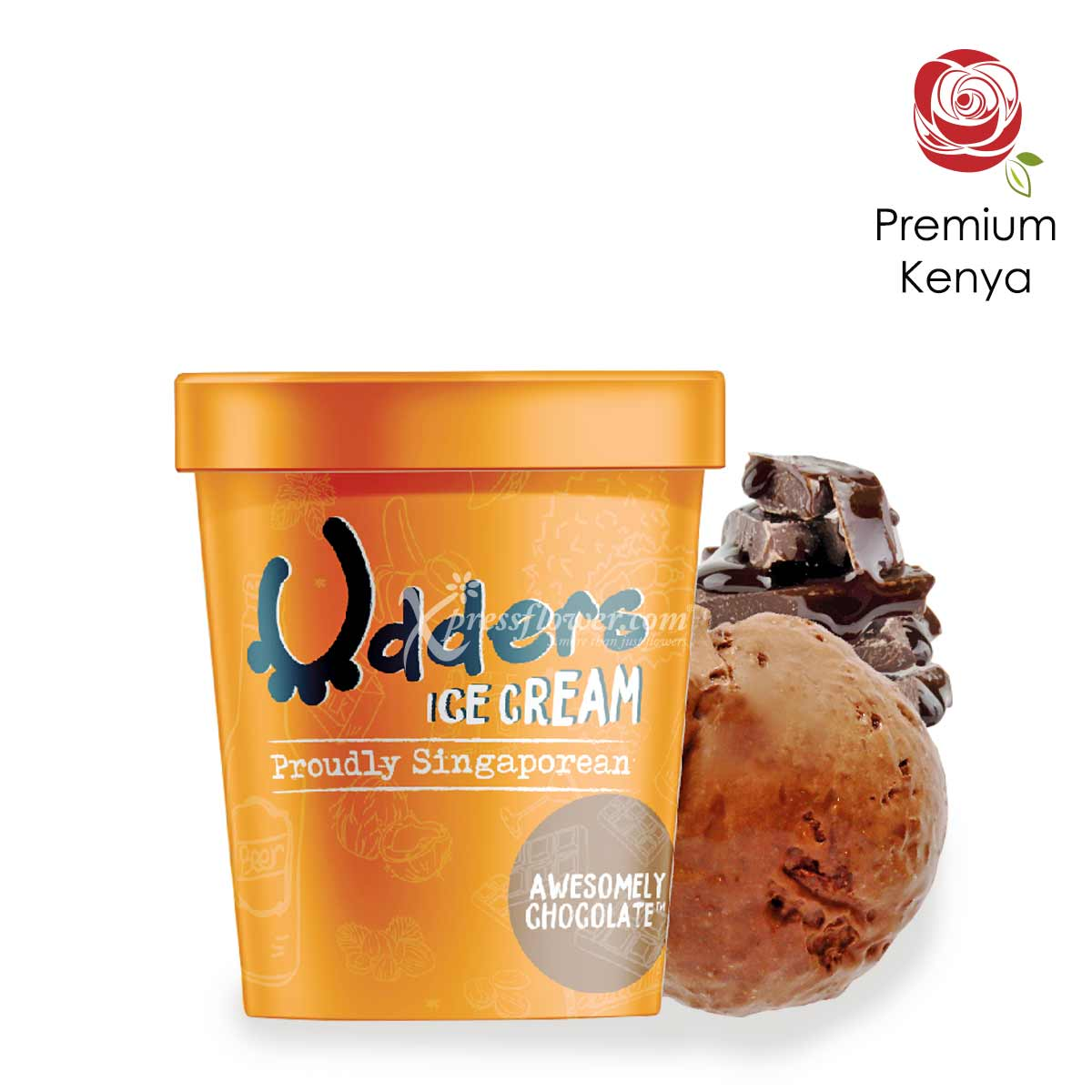 UD1801 Sweet Happiness Udders Ice Cream