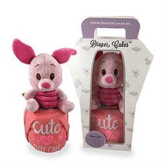 Cute Piglet Diaper Cake