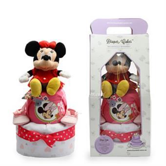 2-Tier Minnie Diaper Cake