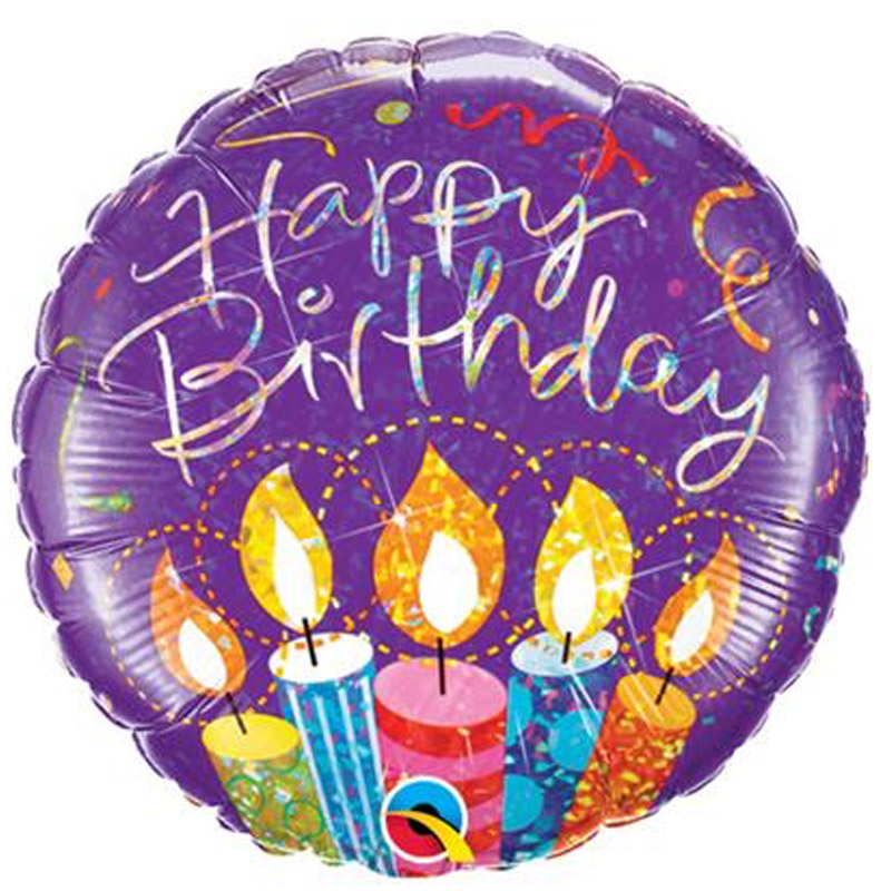 Birthday Foil Balloon 18B