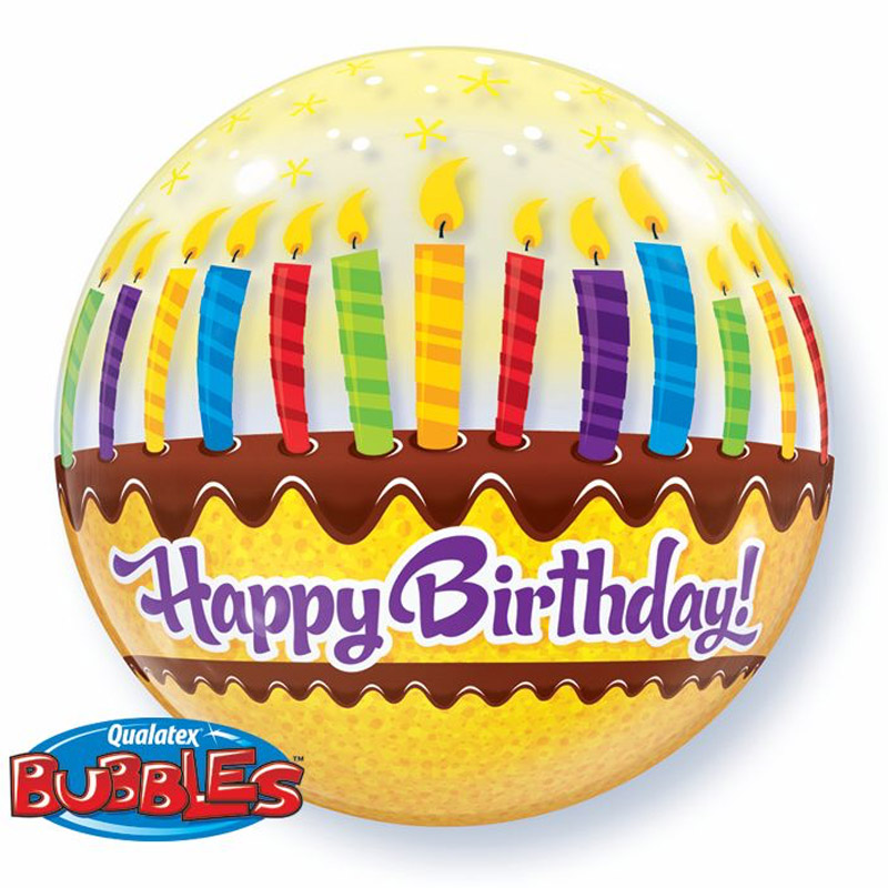 Birthday Bubble Balloon 18A