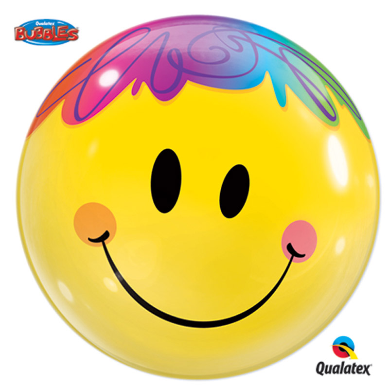Smile All Day Bubble Balloon