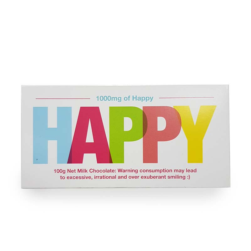 Happy (Colourful) Chocolate Bar