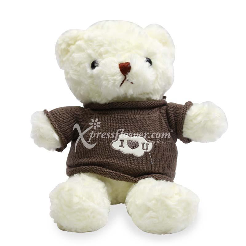 """12"""" I Heart you bear"""