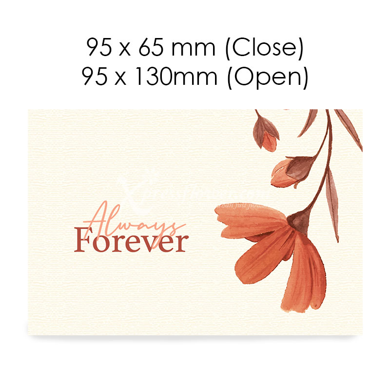 Always Forever (Blank Card)