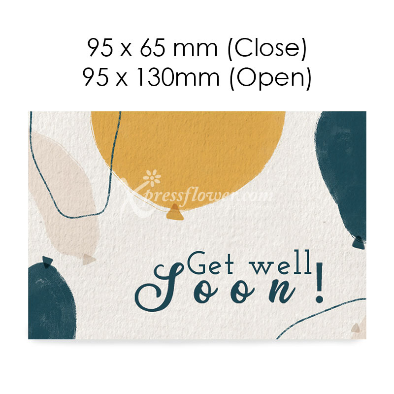 Get well Soon B (Blank Card)