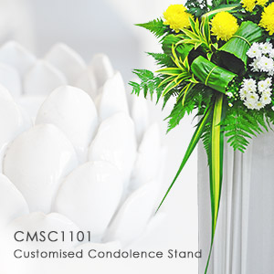 Customised Condolence Stand