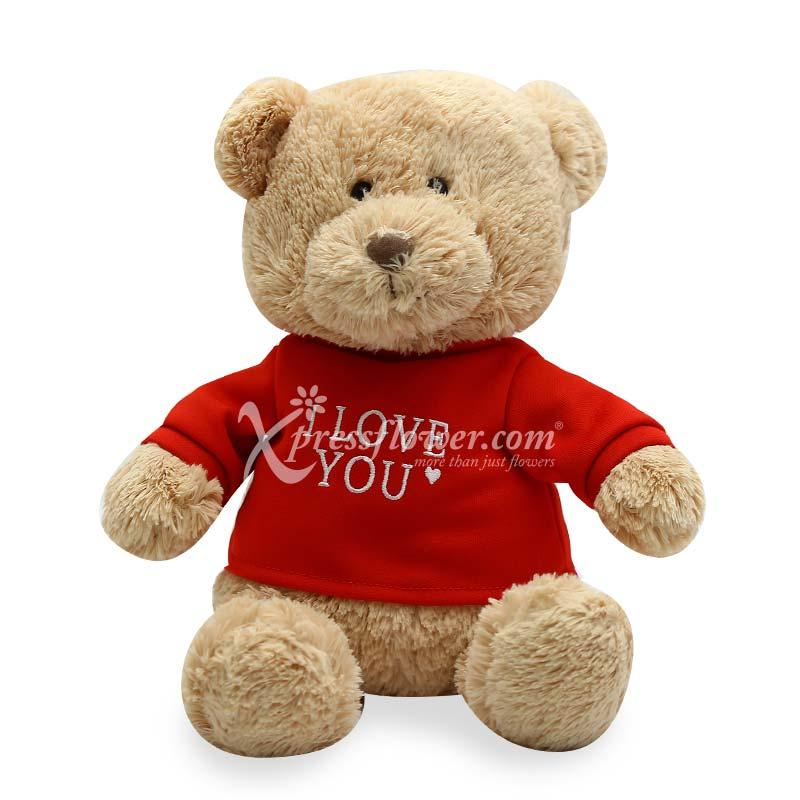 "12"" NC I Love you bear"