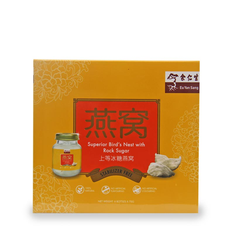 EYS Bird's Nest with Rock Sugar 6 x 70g