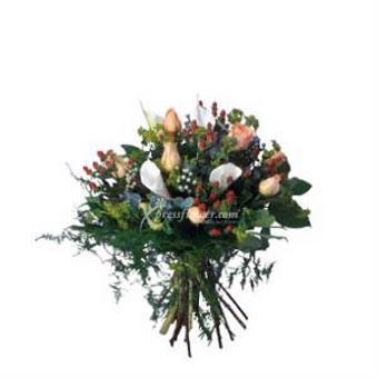 BOUQUET OF SEASONAL FLOWERS (CN)