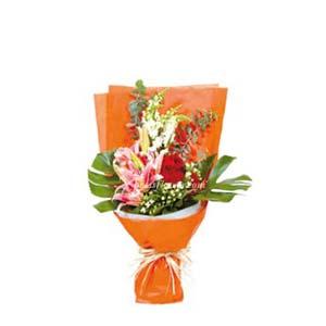 BOUQUET OF SEASONAL FLOWERS (HK)