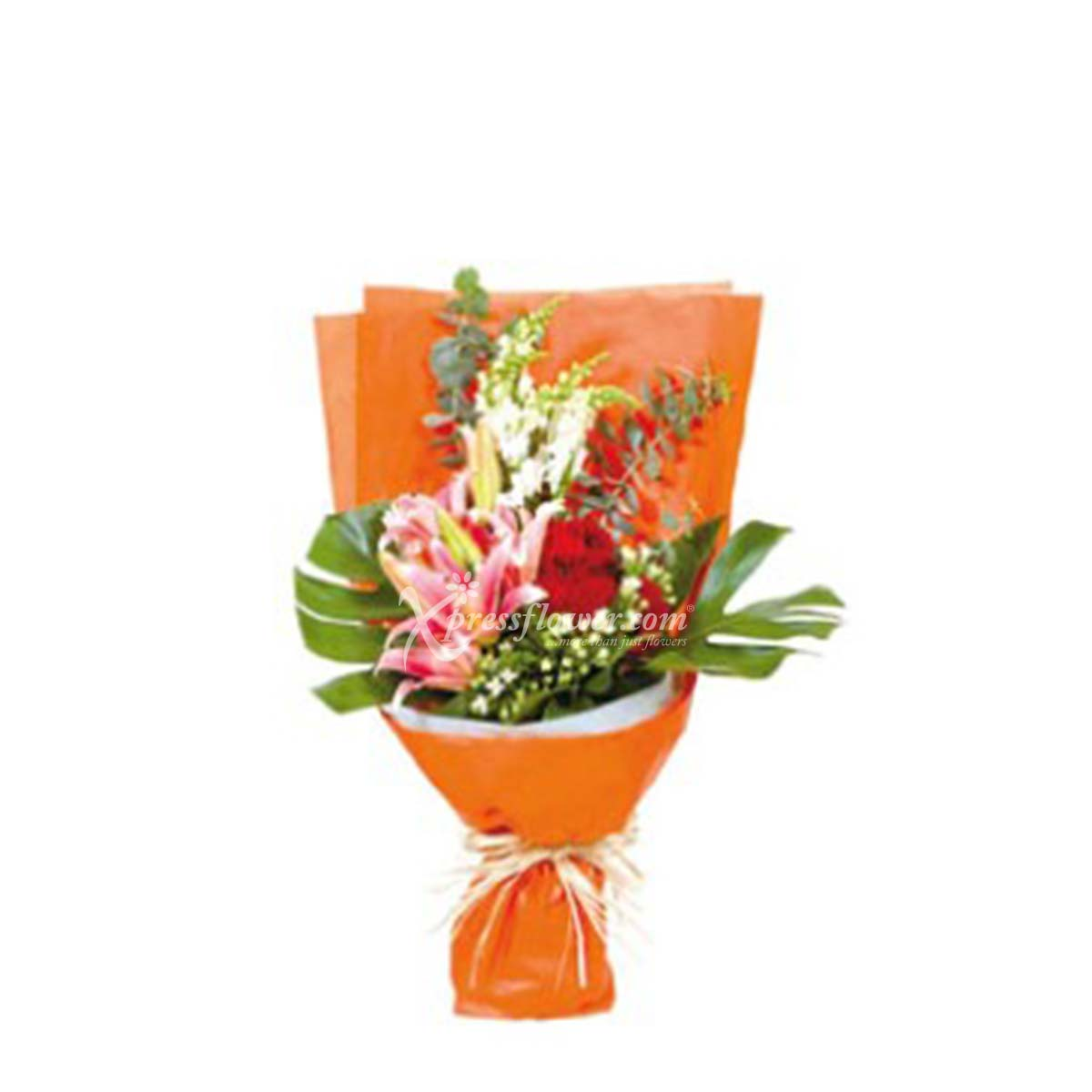 BOUQUET OF SEASONAL FLOWERS (HK)