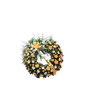 FUNERAL WREATH A (IND)