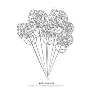 12 Long Stemmed Roses (JP)