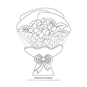 Sympathy Bouquet (JP)