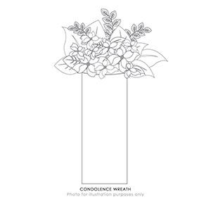 Condolence Wreath (MY)