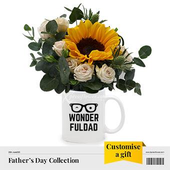 Wonderful Dad (1 sunflower)