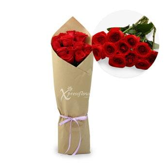 12 Loose Stalks Roses