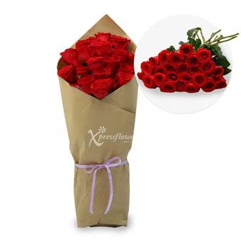 24 Loose Stalks Roses
