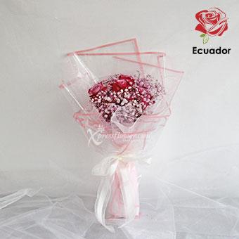 Sweet Confession (6 stalks Premium Ecuador Purple Roses)