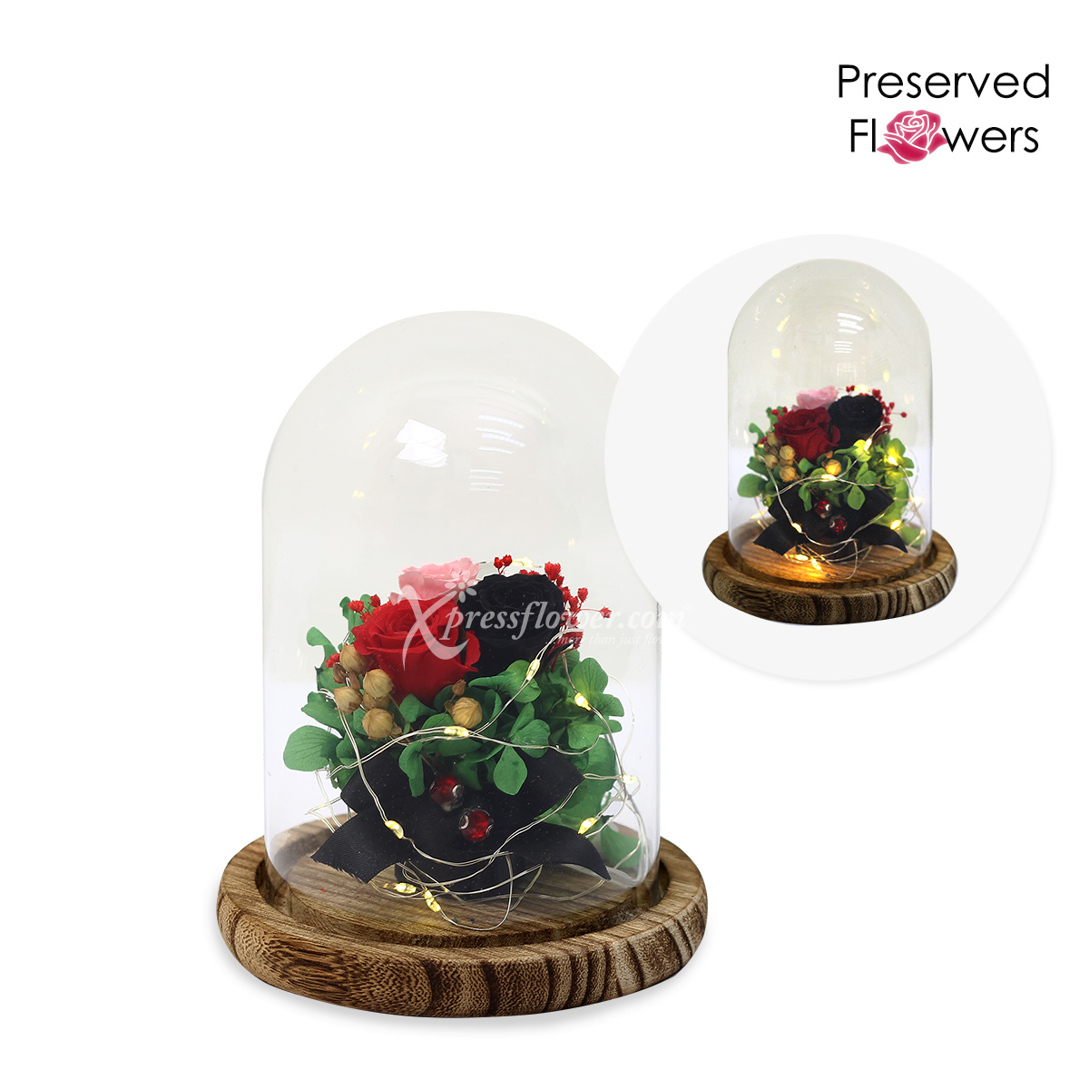 Forest Fairies (Preserved Flowers with LED lights)