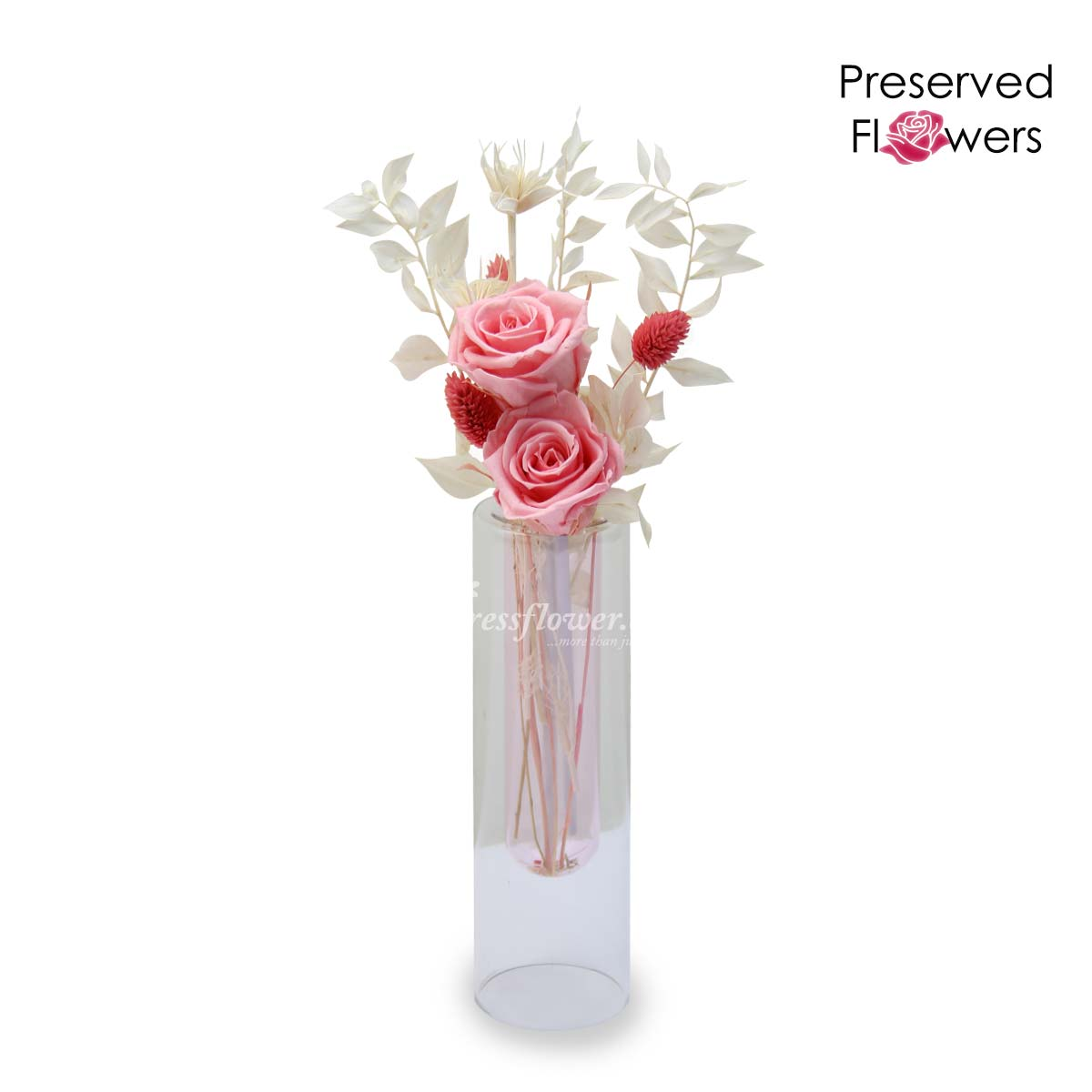 PR2111_Strawberry Garden (Mixed Dried & Preserved Flowers)_B