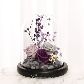 I Purple You (Preserved Flowers)