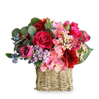 Fuchsia Romance (Artificial Flowers)