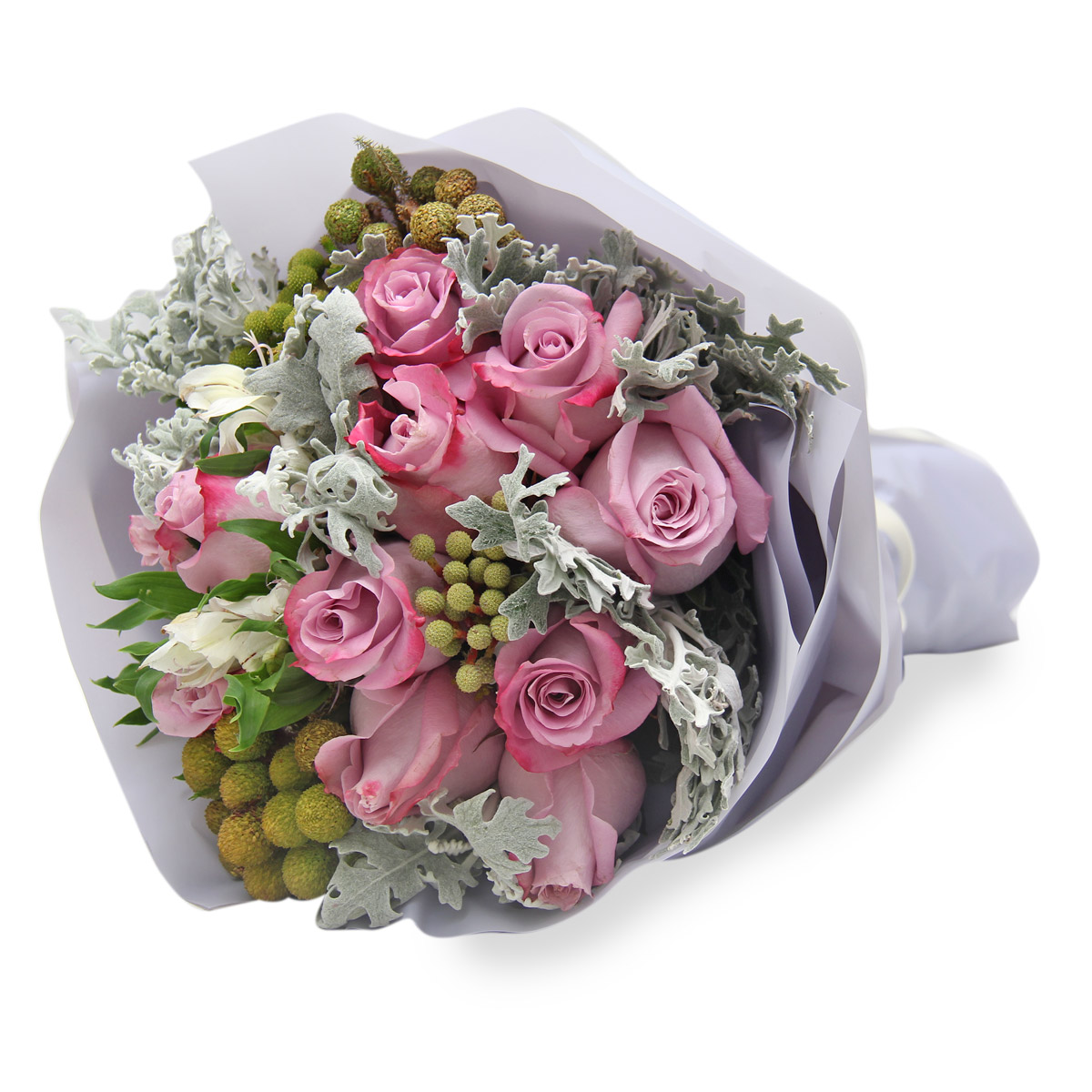 BQ1617 yam rose bouquet