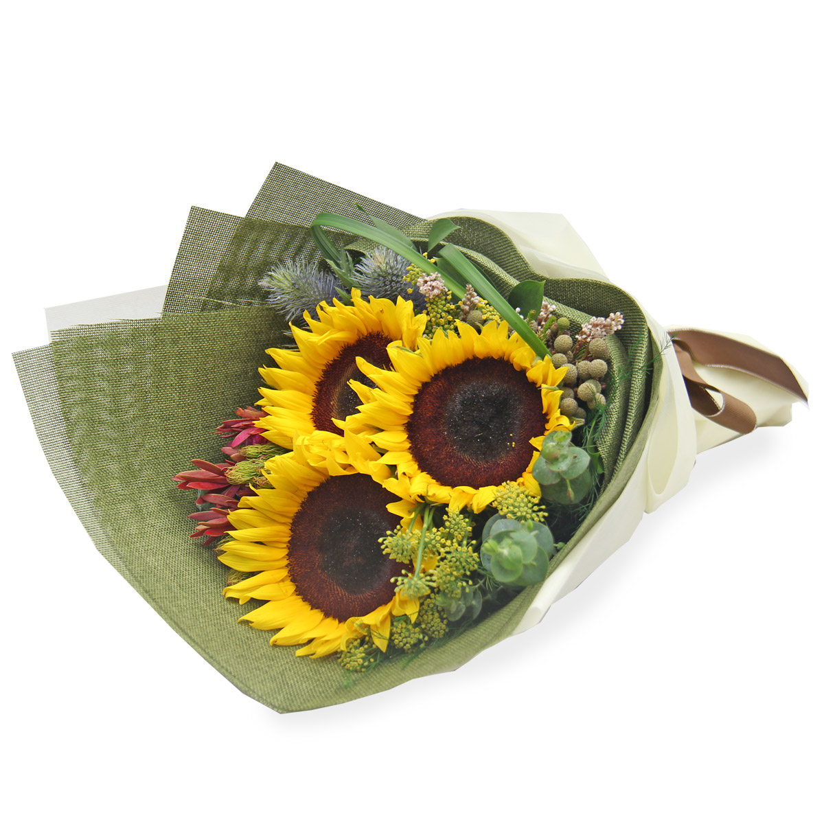 BQ1619A sunflower bouquet