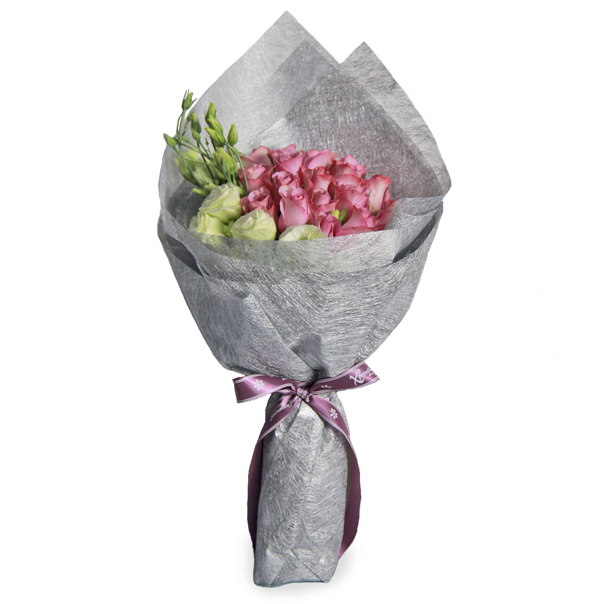 BQ1736 lush splendor yam purple roses