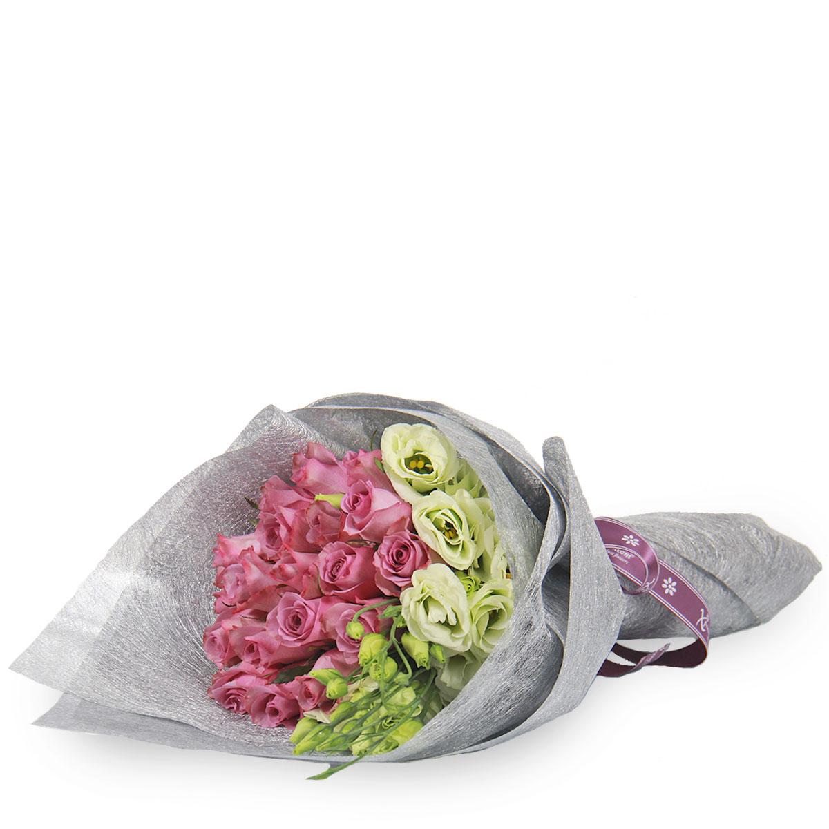 BQ1736 lush splendor yam purple roses