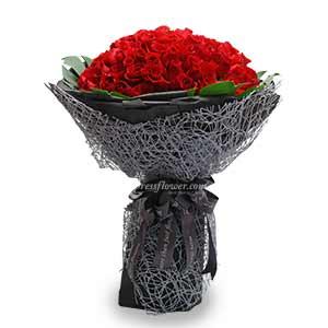 Nebula - 99 stalks Red Roses