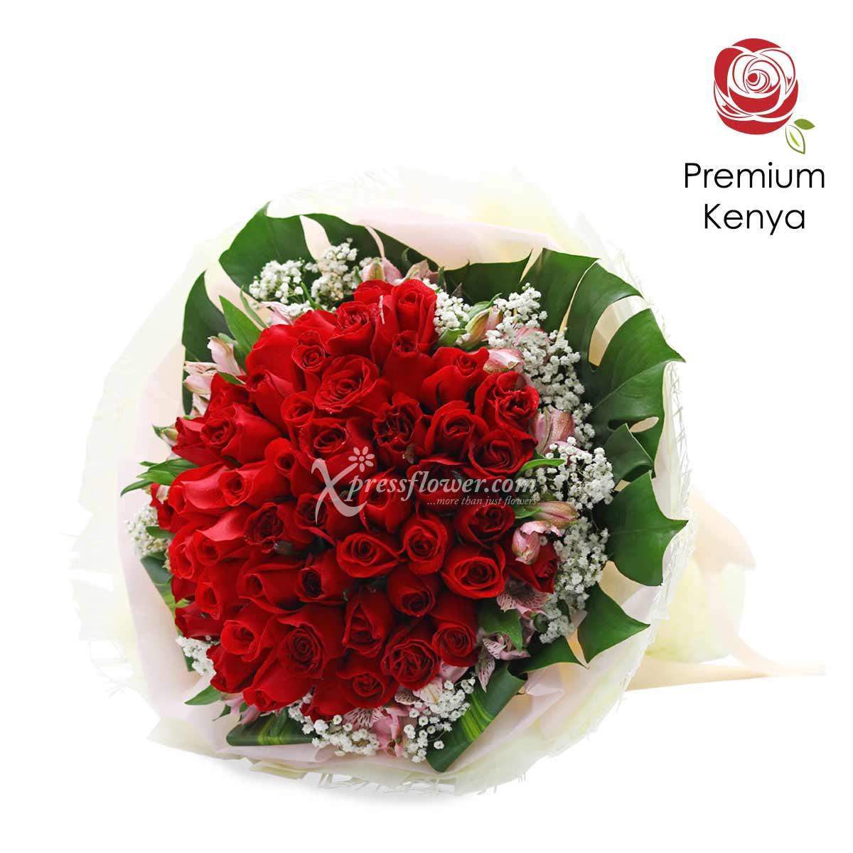 My Universe (50 stalks Premium Kenya Roses)