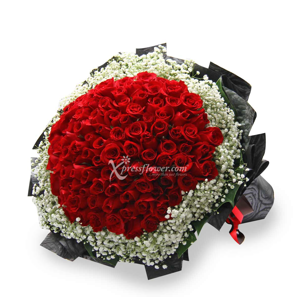 Leave Me Breathless (99 stalks Red Roses)