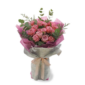 Amethyst Hearts(16 yam roses)