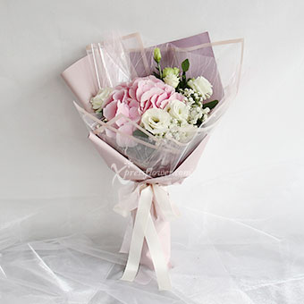Lovers' Blush (Light Pink Hydrangea)