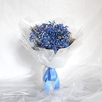 Azure Vision (Dark Blue Million Stars with LED lights)