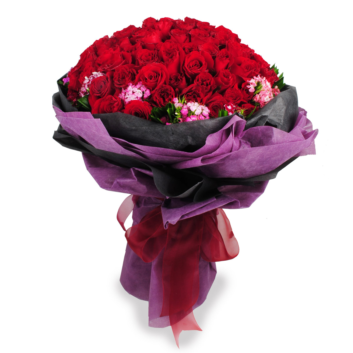 BQ22 red rose bouquet