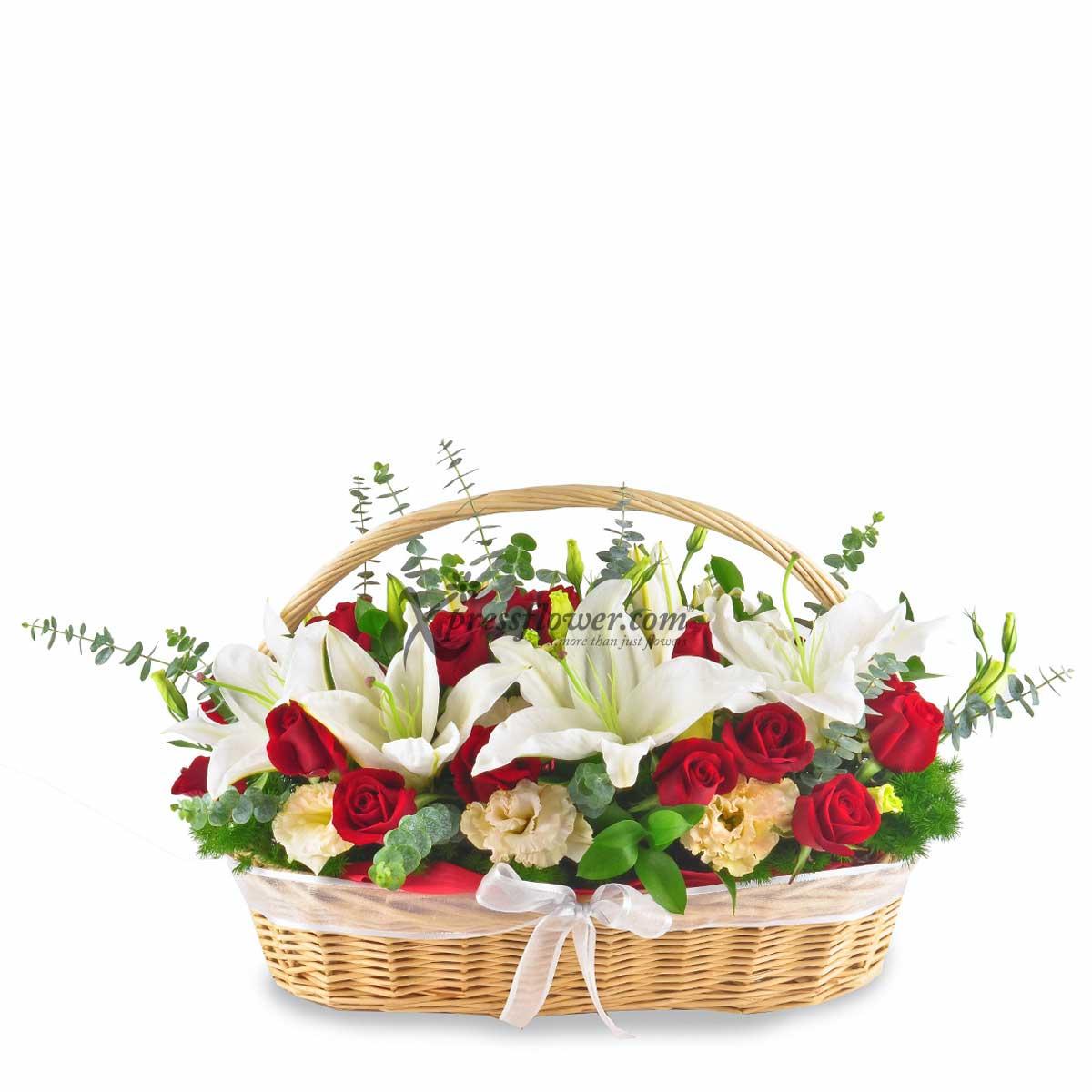 Beauty in a Basket