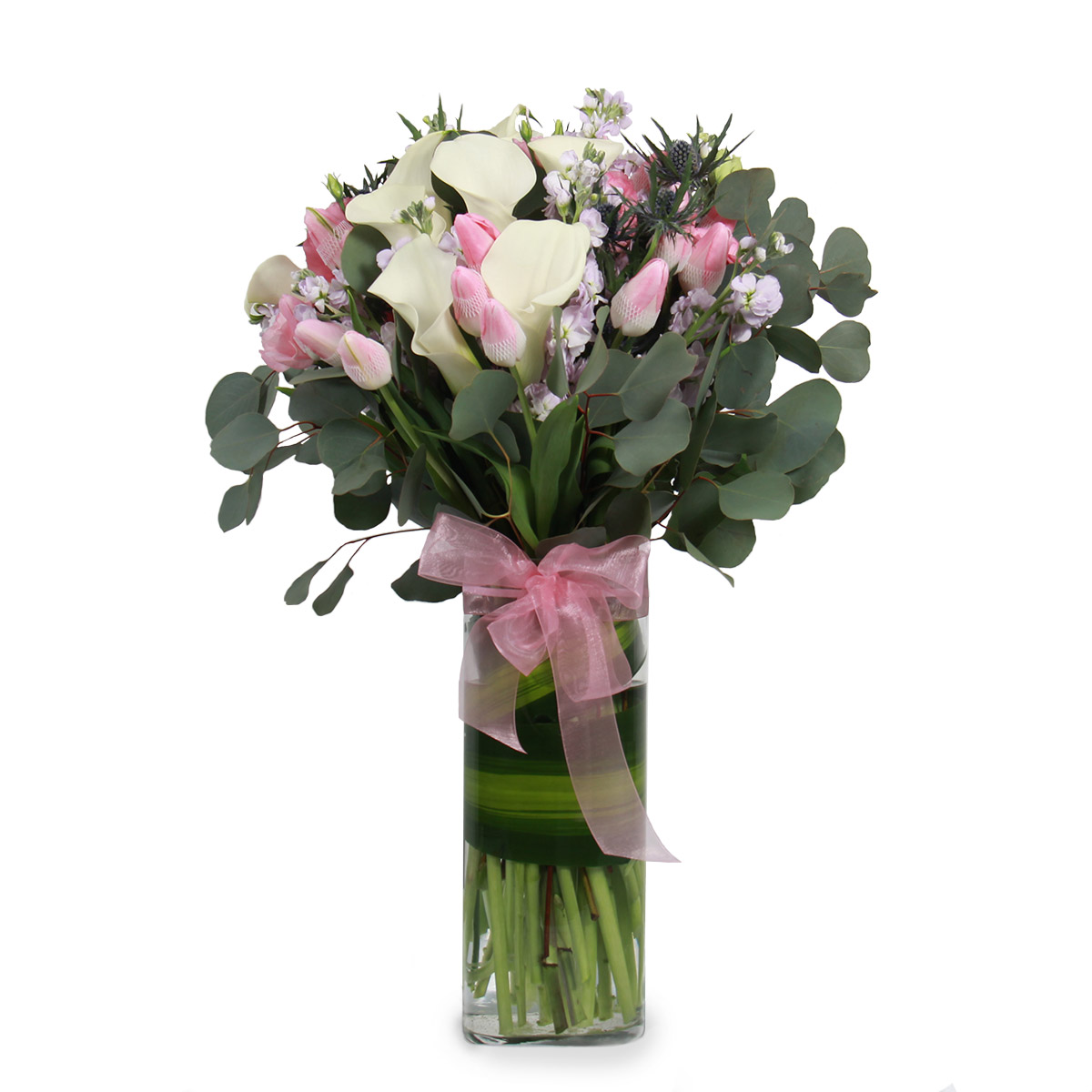 AR1708 charming delight pink tulips