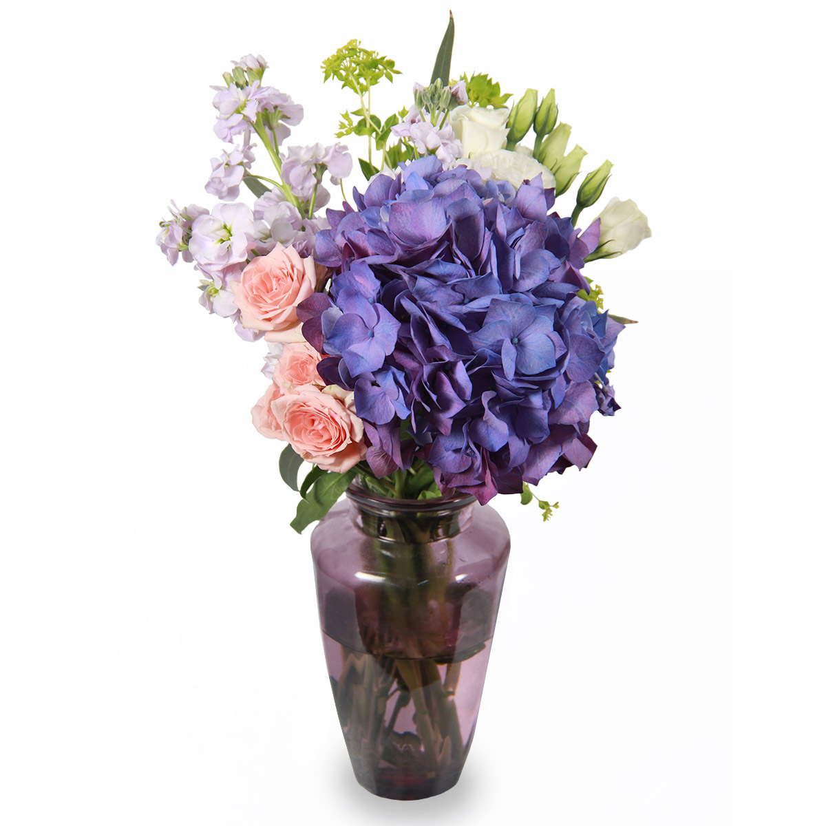 AR1711 sophisticated hues blue hydrangea