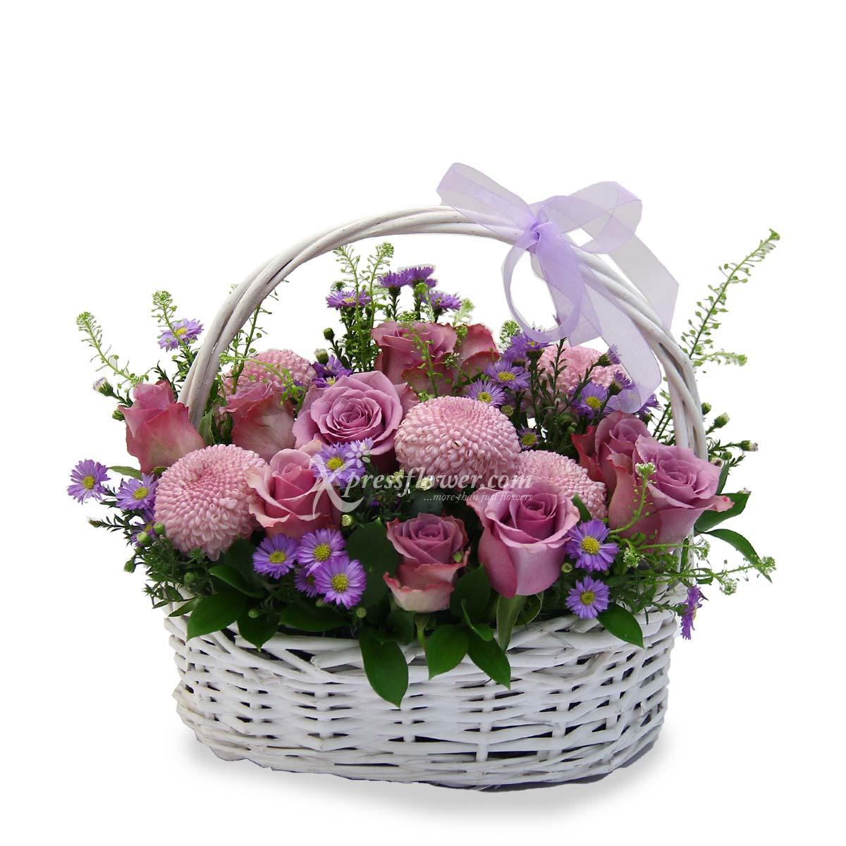 Garden Blooms (12 yam roses)