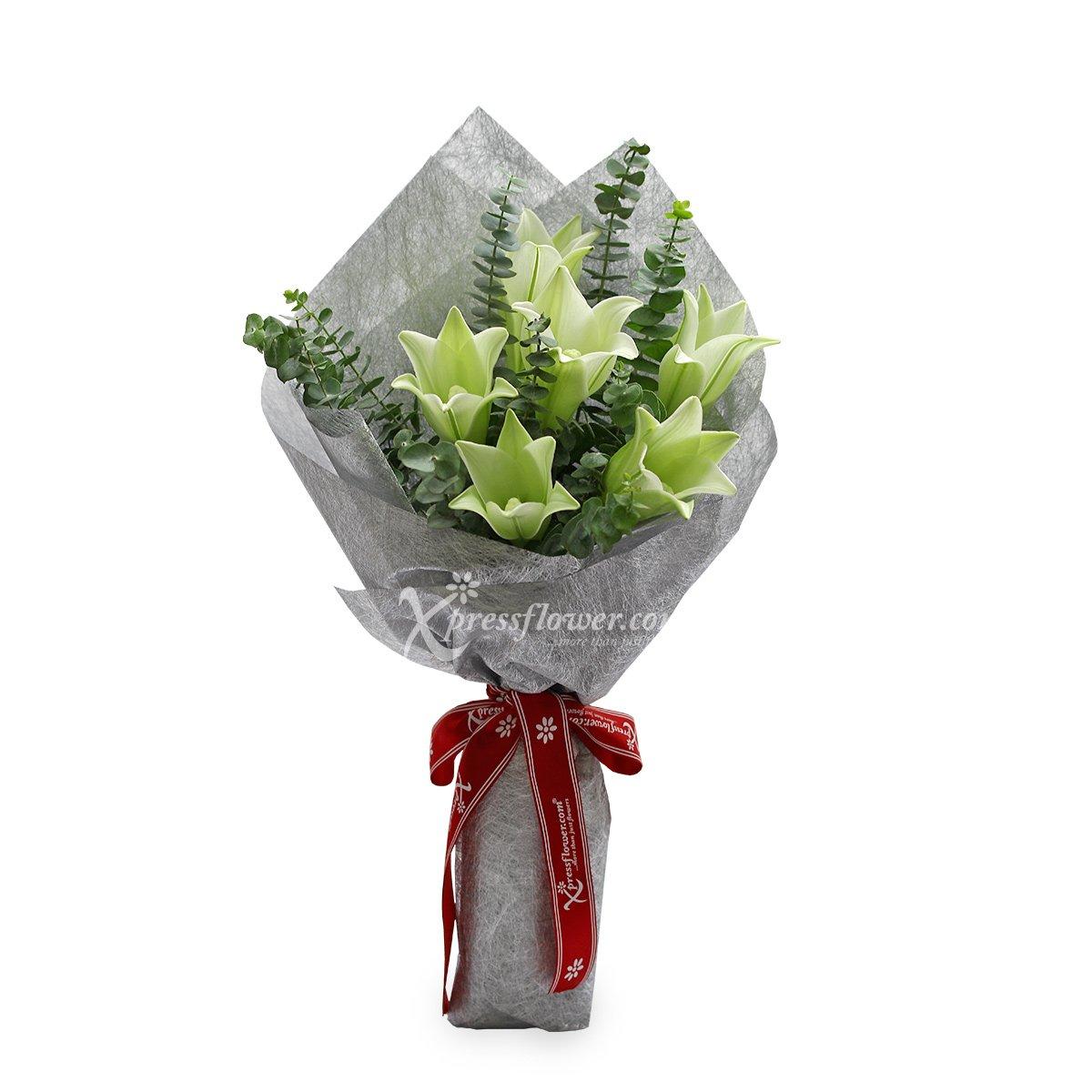 Aphrodisiac (6 stalk Lilies)