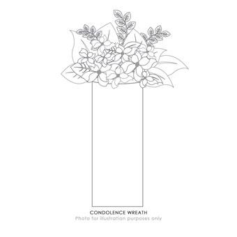 CONDOLENCE WREATH (HK)