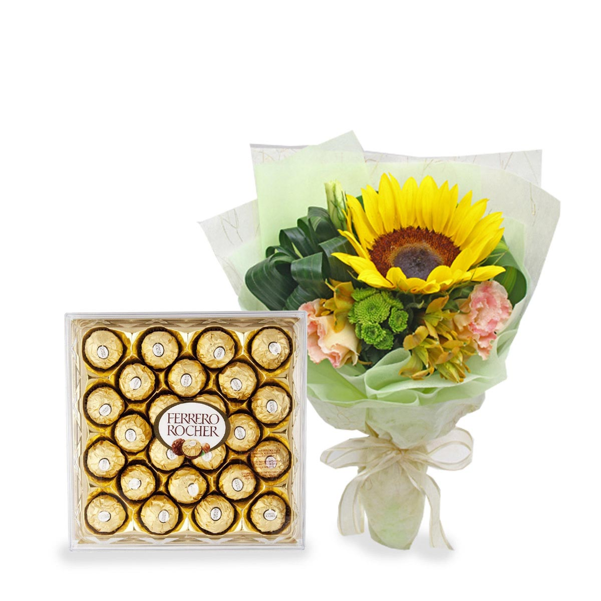 CT1605 Sweet Victory Sunflower BQ T24 Chocolate