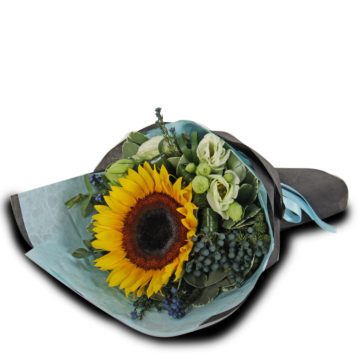 CT1610 Marching On sunflower bq foil balloon