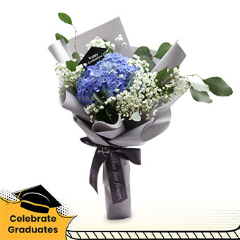 Shoot for the Stars (1 blue hydrangea with