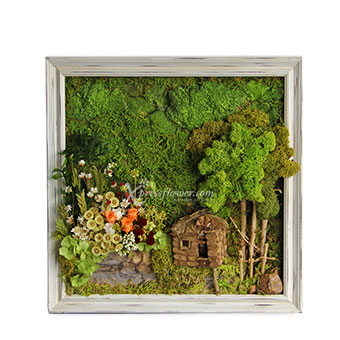 Sweet Cottage (Dried Moss)
