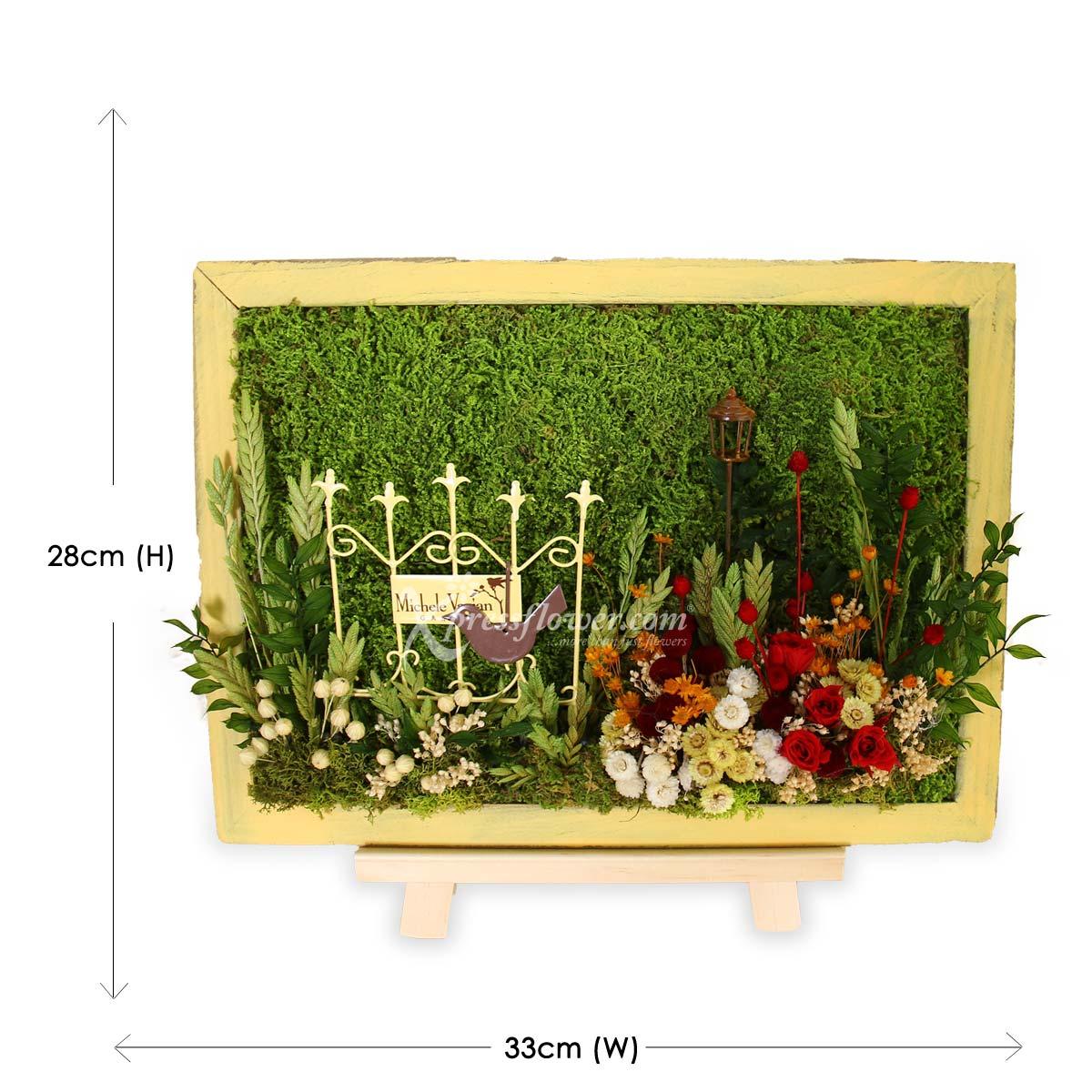 PS2101 Morning Garden Moss Art D